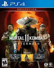Đĩa Game PS4 : Mortal KOMBAT 11 Aftermath Kollection