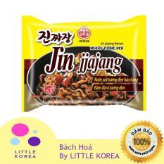 Mì gói ăn liền Jin Jjajang Ramen sốt tương đen Ottogi 135g