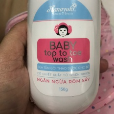 Baby top to toe wash