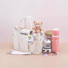 [Size lớn] Túi Vegiebag bỉm sữa thời trang, tiện lợi cho mẹ và bé