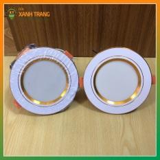 Đèn Led Âm Trần, Đèn Downlight 7W 3 chế độ màu trần thạch cao đủ công suất.