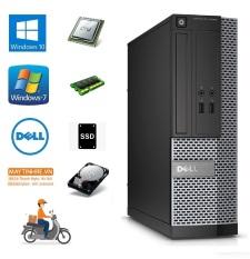 Máy tính bàn Dell Optiplex 3020 sff, CPU Core i5 4570, Ram 4G, Ổ cứng SSD 240G, Hàng nhập khẩu, chưa bao gồm phím chuột và màn hình
