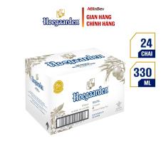 Thùng 24 chai bia Hoegaarden White (330ml/chai) – Dòng Bia Lúa Mì Xuất Xứ Từ Bỉ