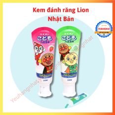 Kem đánh răng trẻ em Lion có thể nuốt [Gemie Store]