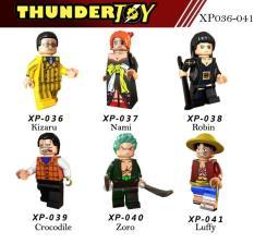 Đồ chơi lắp ráp Mini Figure nhân vật One Piece đảo hải tặc, team luffy