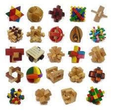 ✔️✔️ Trò chơi tháo lắp gỗ KHÓA LỖ BAN – WOODEN PUZZLE – Trò chơi Trí tuệ, phát triển EQ, IQ …