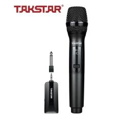 [Chính Hãng] Micro không dây karaoke Takstar TS-K201, mic không dây sóng UHF, dùng cho kết nối loa di động, BẢO HÀNH 12 THÁNG