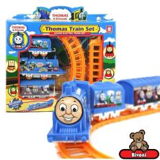 Đồ Chơi Tàu Hỏa Thomas Vui Nhộn Có Đường Ray Siêu Hot TM01