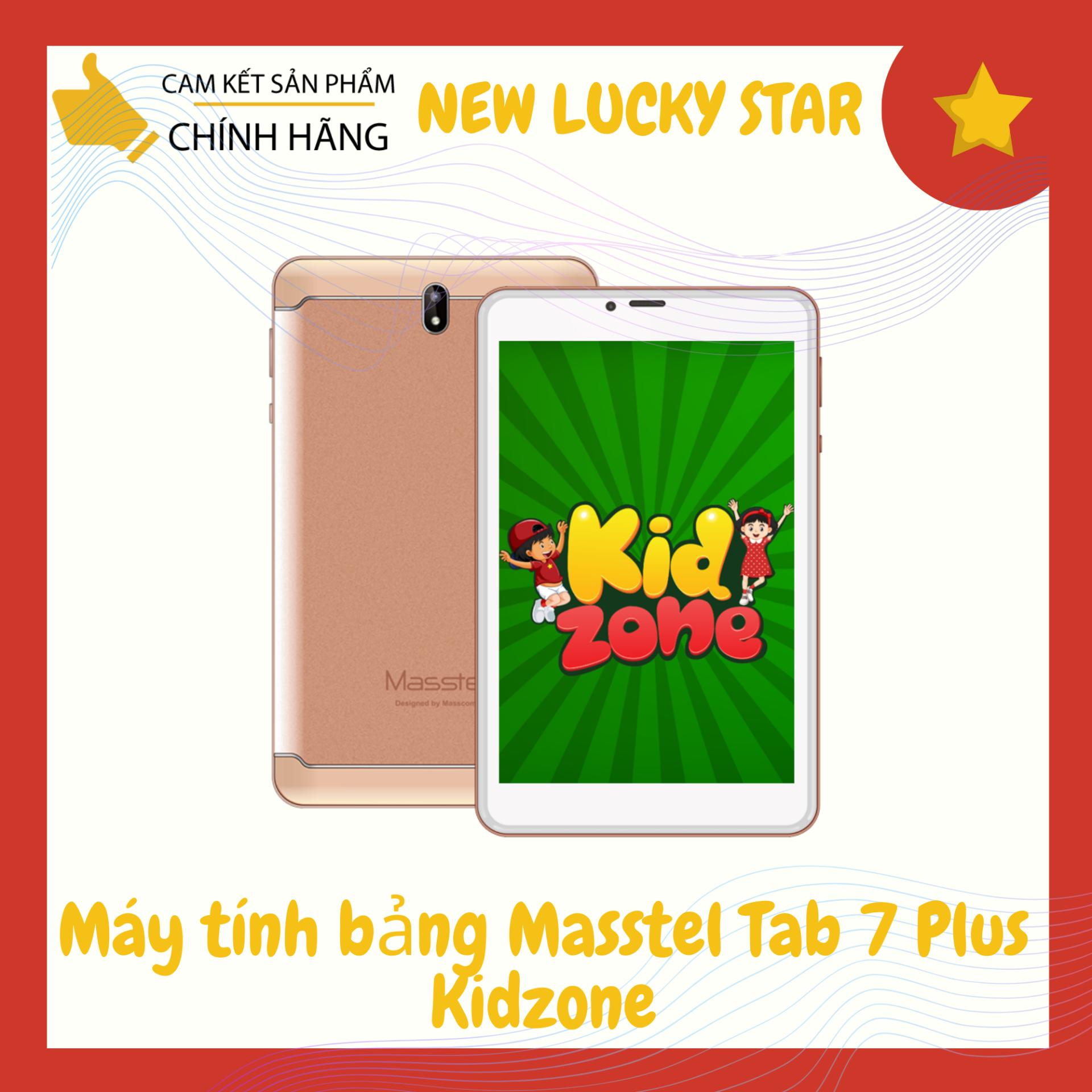 Máy tính bảng Masstel Tab 7 Plus Kidzone (1GB/8GB) – Hàng chính hãng – Màn hình 7″ IPS, 2 sim 2 sóng, Radio FM, camera 5MP, pin 4.000mAh – Bảo hành 12 tháng