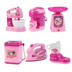 Bộ đồ chơi mô hình đồ làm bếp 6 món cho bé