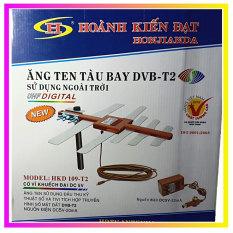 Anten (ăng ten) tàu bay Truyền Hình Kỹ Thuật Số DVB T2 – Model HKD 109-T2 thương hiệu Hoành Kiến Đạt (kèm 12m cáp anten)