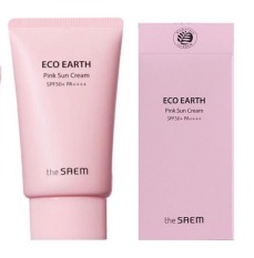 [AUTH – Sẵn] Kem Chống Nắng The Saem Eco Earth Power Pink (SPF 50+/PA)+++(Mẫu Mới)