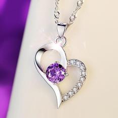 Dây chuyền trái tim đính đá phong cách thời trang hàn quốc HKN-A07