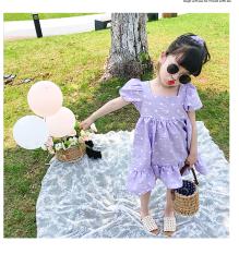 Váy công chúa tay bồng cute cho bé gái/ BST hè 2021