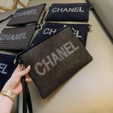 Ví clutch channel thời trang