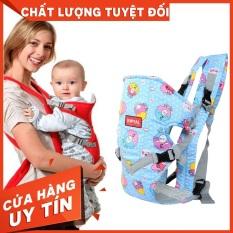 địu em bé 4 tư thế có ghế chống gù lưng cho bé ROYAL An Toàn – Chắc Chắn – Chất Liệu Đẹp