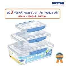 DEAL – Bộ 3 hộp nhựa 820ml – 1600ml – 3300ml đựng thực phẩm an toàn. Thố đựng thực phẩm để tủ lạnh