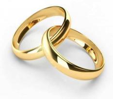 Nhẫn trơn mạ vàng 24k ITALY ( 5 Chỉ ) – Nhẫn cưới – Nhẫn cặp tình yêu