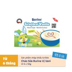 Cháo sữa ăn dặm Burine vị vani – Nhập khẩu Đức dành cho trẻ từ 6 tháng tuổi