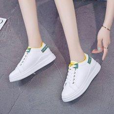 Giày bata nữ trắng thể thao phong cách Hàn Quốc size 35-39