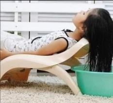 Ghế tắm gội đầu Nhựa Việt Nhật cao cấp. Phù hợp các con từ 6 tháng đến 9 tuổi. Kích thước: 37 x 68 x 14.4cm