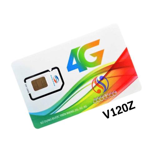 SIM 4G V120Z VIETTEL MIỄN PHÍ THÁNG ĐẦU – 90K/THÁNG – 4GB/NGÀY
