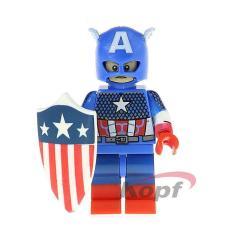 [Non-LEGO] Siêu Anh Hùng Captain America – Đồ Chơi Lắp Ráp KF2101