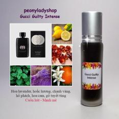 [lăn/xịt 10ml] Tinh dầu nước hoa Pháp lịch lãm – tinh dầu nam mini dạng lăn dạng xịt – peonyladyshop