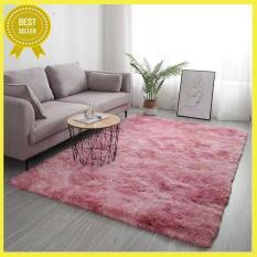 [Mẫu mới-CHỌN MÀU] Thảm lông trải sàn lông loang (1m6 x 2m) cao cấp phòng khách trang trí nhà cửa, thảm trải sàn phòng ngủ, thảm trải sàn phòng khách GDLINHA02