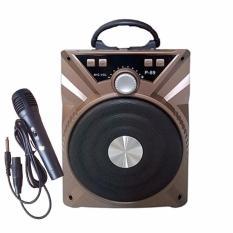 Loa kéo mini P88-P89 tặng kèm mic / Loa Bluetooth Karaoke P88-P89 tặng kèm mic