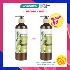 [1000 đ CHO SẢN PHẨM THỨ 2] Dầu Xả Naturals By Watsons Chiết Xuất Olive 490ml