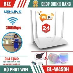 Bộ Phát Wifi 4 Râu – Router Wifi Lb-Link Wr450H – Bảo Hành 24 Tháng!!!