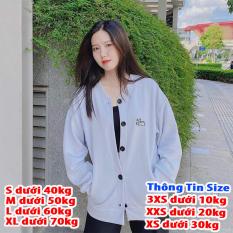 [FREESHIP TOÀN QUỐC] Áo khoác cardigan nam nữ form rộng chất vài thun nỉ ngoại in hình cún dễ thương thời trang nữ 4young