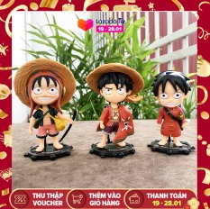 [Nhập ELMAR31 giảm 10% tối đa 200k đơn từ 99k]Mô hình nhân vật Luffy trong phim hoạt hình One Piece cam kết hàng đúng mô tả chất lượng đảm bảo inbox cho shop để được tư vấn thêm