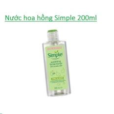 Nước Hoa Hồng Simple Kind To Skin Soothing Facial Toner (200ml)