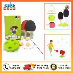 Bóng bàn phản xạ, bộ bóng bàn nâng cao khả năng tập trung cho bé