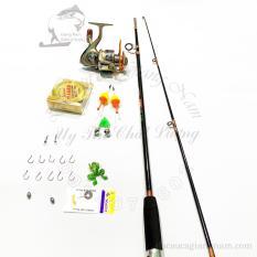 combo cần câu shimano dài 2m7,2m4,2m1 và máy câu LC 7000 kèm đủ phụ kiện big sale