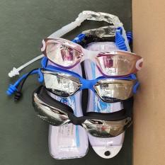 Kính bơi COOSA A360 Tráng Gương Chống Tia UV Chống Nước Chống Mờ + Tặng 2 Bit Tai Silicon