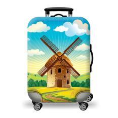 Túi bọc bảo vệ vali -Áo vỏ bọc vali – Size S-CỐI XOAY GIÓ HPValiOEM