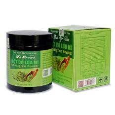 Liệu trình 3 hũ Bột cỏ lúa mì Bảo Hân 100g (juice wheatgrass, Hỗ trợ điều trị máu nhiểm mỡ, hỗ trợ tăng sức đề kháng)