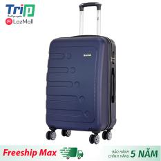 [Hỗ trợ phí Ship] Vali nhựa TRIP P16 Size 24inch/ Vali du lịch TRIP Size ký gửi hành lý, đựng từ 15-25kg