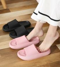 [ XẢ Hàng TẾT ] Dép bánh mỳ quai ngang unisex | Dép Nữ thời trang độn đế 5cm siêu êm chống nước chống trơn trượt | Minh Thư Shoes