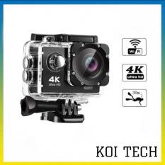 Camera hành trình chống nước chống rung 4K 16M SPORT Ultra HD DV, kết nối wifi ( Goplus Cam), góc quay 170 độ – CAMERA HÀNH TRÌNH XE MÁY WIFI