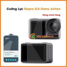 Cường lực GoPro DJI Osmo Action nguyên gốc Gor bộ 2 miếng trong suốt độ cứng 9H