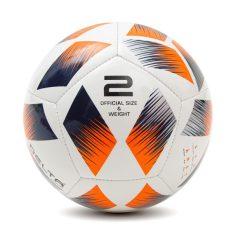 Bóng đá mini DELTA 9965-2M size 2 phù hợp sử dụng cho trẻ em độ tuổi từ 1 đến 5 tuổi, chơi trên sân cỏ tự nhiên hoặc sân cỏ nhân tạo