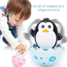 Đồ chơi lật đật trứng dễ thương có âm thanh lục lạc vui nhộn nhiều mẫu cho bé yêu vui chơi an toàn