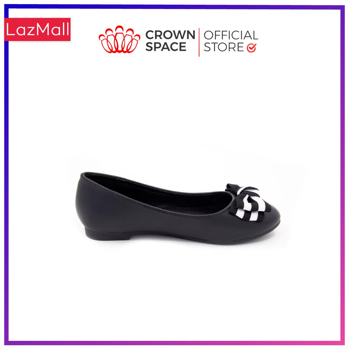 Giày búp bê đi học bé gái Crown Space UK giày búp bê cho bé từ 8 đến 14 tuổi size 32 đến 36 đi nhẹ êm chân thoáng mát CRUK3119