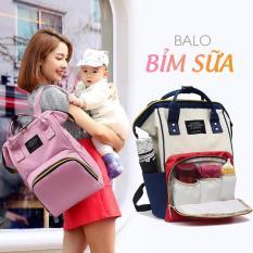 Balo Bỉm Sữa Cho Mẹ Và Bé Cao Cấp Living Travel Share, Balo đa năng cho mẹ và bé khi đi ra ngoài.