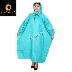 Áo khoác đi mưa vải dù siêu bền, áo mưa không xẻ tà