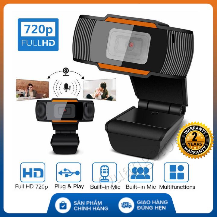 [Bảo hành 24 Tháng] Webcam máy tính pc để bàn có mic A870 , hỗ trợ Học Online Qua ZOOM, Trực Tuyến- Hội Họp -Gọi Video Hình Ảnh Sắc Nét , Webcam cho máy tính , Webcam có míc , Webcam laptop , Webcam pc